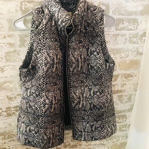 Michael Kors Snakeprint vest